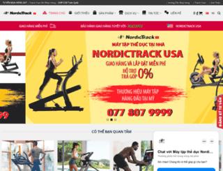 nordictrack.vn screenshot