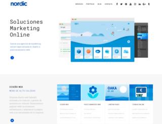 nordicwebsites.com screenshot