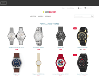 nordwatches.com screenshot