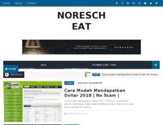 norescheat.blogspot.com screenshot