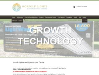 norfolklights.com screenshot