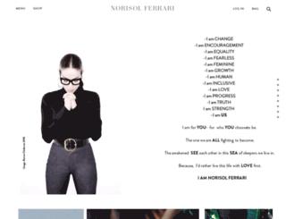 norisolferrari.com screenshot