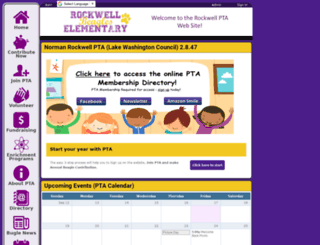 normanrockwellpta.ourschoolpages.com screenshot