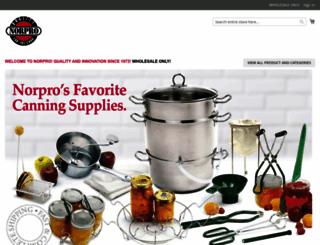 norpro.com screenshot