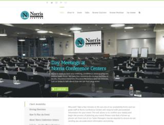 norriscenters.com screenshot