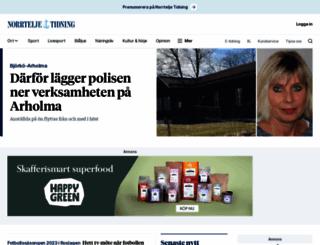 norrteljetidning.se screenshot