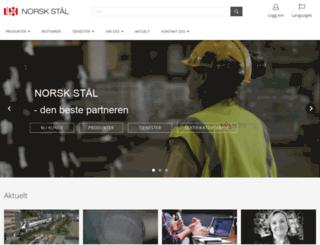 norskstaal.no screenshot