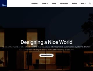 nortekcontrol.com screenshot
