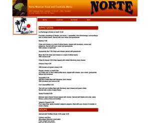 nortemexicanrestaurant.menutoeat.com screenshot
