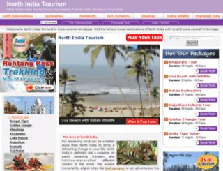 north-india-tourism.com screenshot