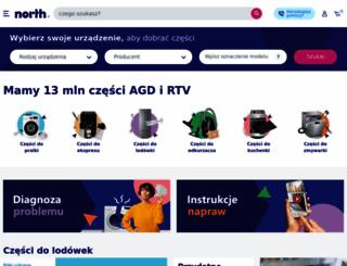 north.pl screenshot