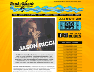 northatlanticbluesfestival.com screenshot