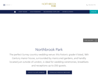 northbrookpark.co.uk screenshot