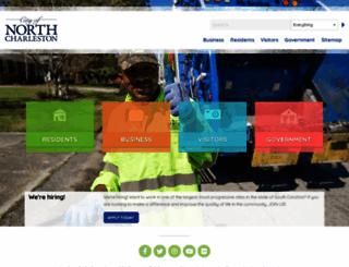 northcharleston.org screenshot