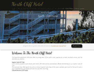 northcliffhotel.net screenshot