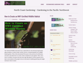 northcoastgardening.com screenshot