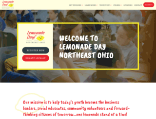 northeastohio.lemonadeday.org screenshot