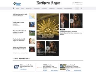 northernargus.com.au screenshot