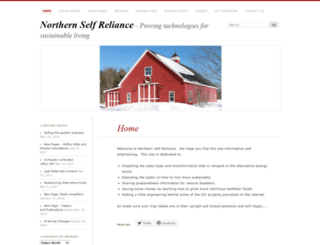 northernselfreliance.com screenshot