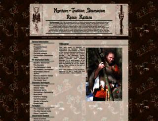 northernshamanism.org screenshot