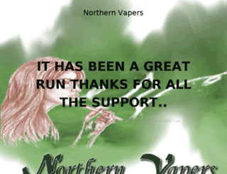 northernvapers.com screenshot