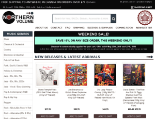 northernvolume.com screenshot