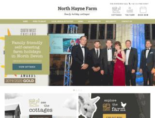 northhaynefarmcottages.co.uk screenshot