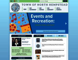 northhempstead.com screenshot