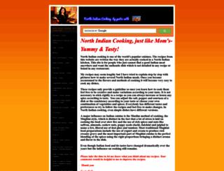northindiancooking.com screenshot