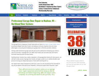 northlanddoorsystems.com screenshot