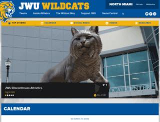 northmiami.jwuathletics.com screenshot