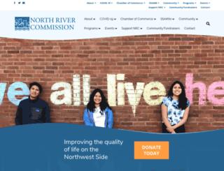 northrivercommission.org screenshot