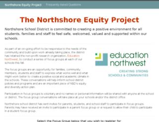 northshore.educationnorthwest.org screenshot