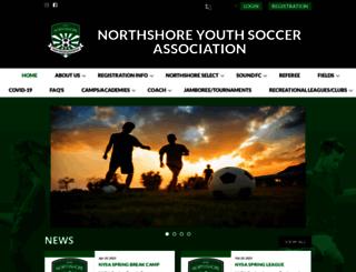 northshoresoccer.org screenshot