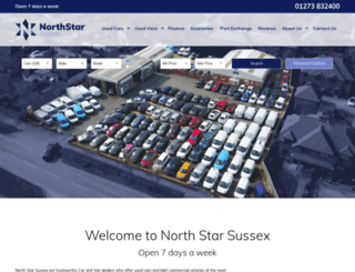 northstarmotorgroup.co.uk screenshot