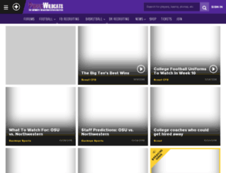 northwestern.scout.com screenshot
