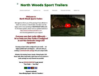 northwoodssporttrailers.com screenshot