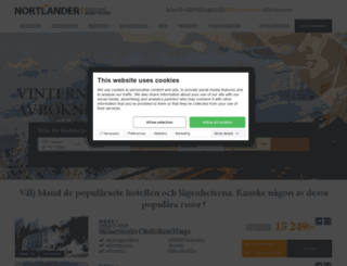 nortlander.se screenshot