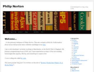 norton42.org.uk screenshot