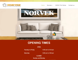 norvek.com.au screenshot
