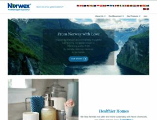 norwex.com screenshot