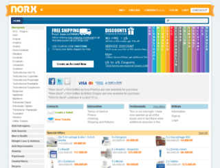 norxshop.com screenshot