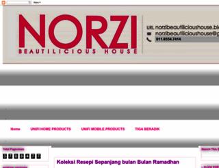 norzibeautilicioushouse.blogspot.com screenshot