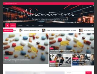 noscouturieres.com screenshot