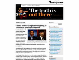 nose4news.wordpress.com screenshot