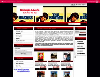 nostalgicadverts.com screenshot