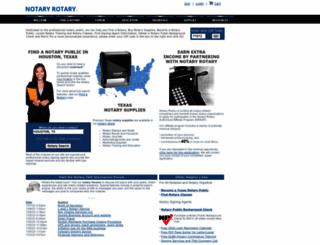 notaryrotary.com screenshot