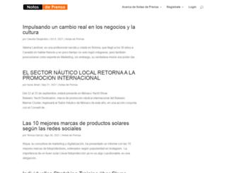 notasdeprensa.net screenshot