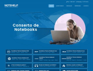 notehelp.com.br screenshot