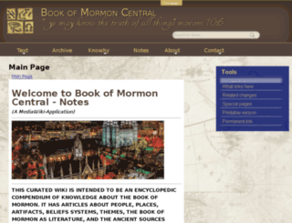 notes.bookofmormoncentral.org screenshot
